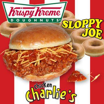 Is it a doughnut? Is it a Sloppy Joe?