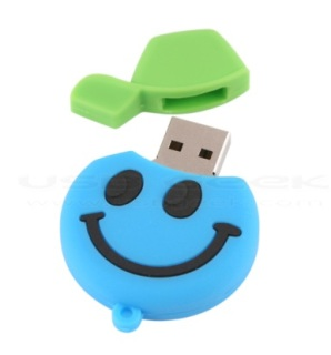 Smiling Face USB Drive