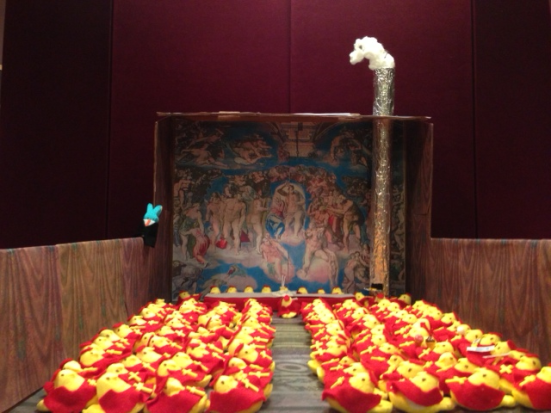 Peepal Conclave in the Sistene Chapel by Binder and Maltzman: image via themonkeycage.org