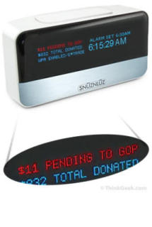 SnuznLuz WiFi Donation Alarm Clock