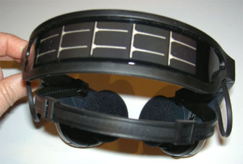 Soltronix™ AM/FM Stereo Solar Charged Headset Radio