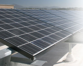 Solar electricity on Kohl's Department Stores