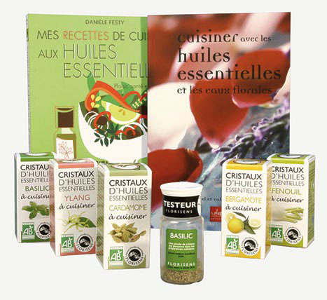 Essential Oils Crystals, Florisens, France: Sial Trends & Innovation Award, 2010