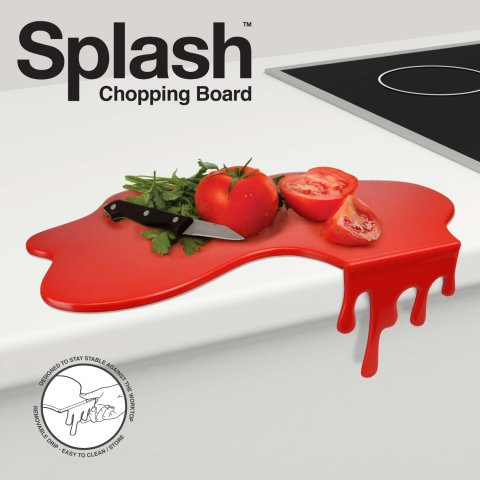 Bloody Splash Cutting Board