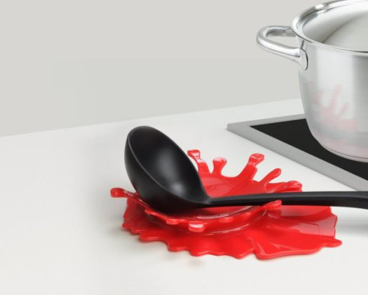 Bloody Splash Spoon Rest