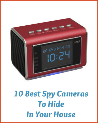 10 best surveillance systems and mini spy camera to hide in your house. Black Bedroom Furniture Sets. Home Design Ideas