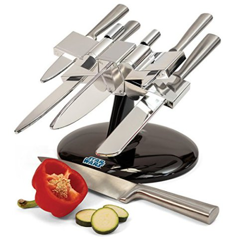 X-Wing Fight Knife Block With Knives
