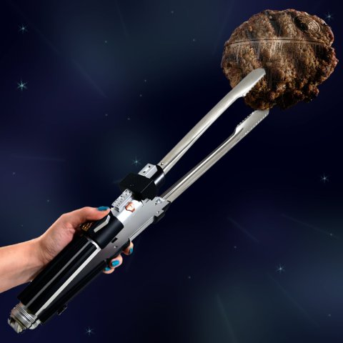 Lightsaber Barbecue Tongs
