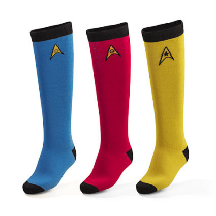 Star Trek Knee-High Socks