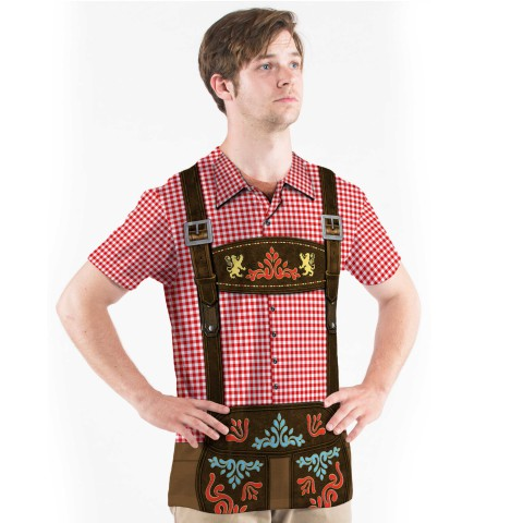 Faux Real Men's Oktoberfest T-Shirt