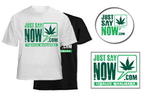 Just Say Now merchandise