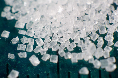 Sugar Crystals (Phot by Lauri Andler/Creative Commons via Wikimedia)