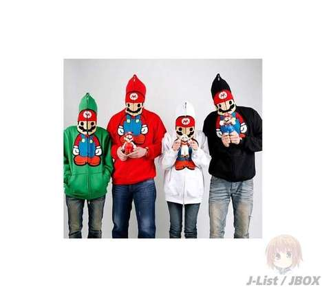Super Mario Hoodies