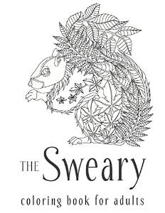 sweary adult coloring book