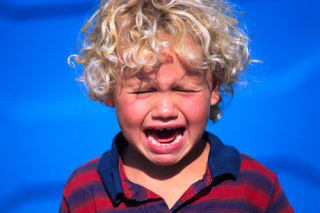 Child tantrums are indicative of low self-control: image via johntedwards.com