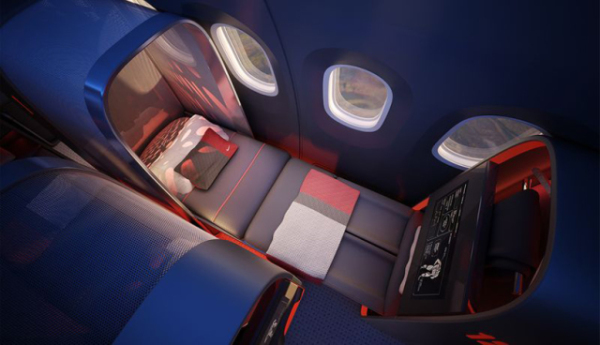 Athlete's Plane Beds