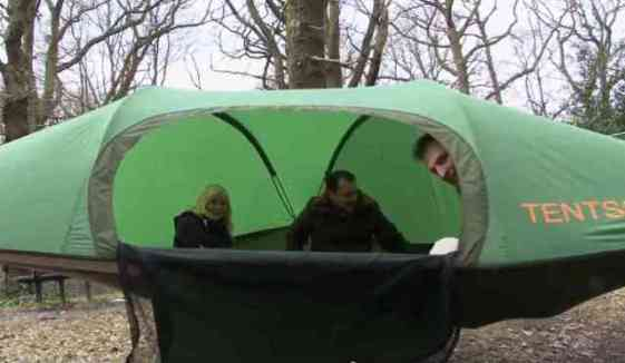 Tentsile Stingray Roomy Accomodation