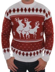 Reindeer Threesome Sweater