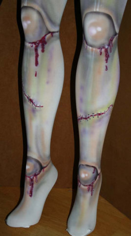 Tights Of The Living Dead -- Zombie Legs For Ladies