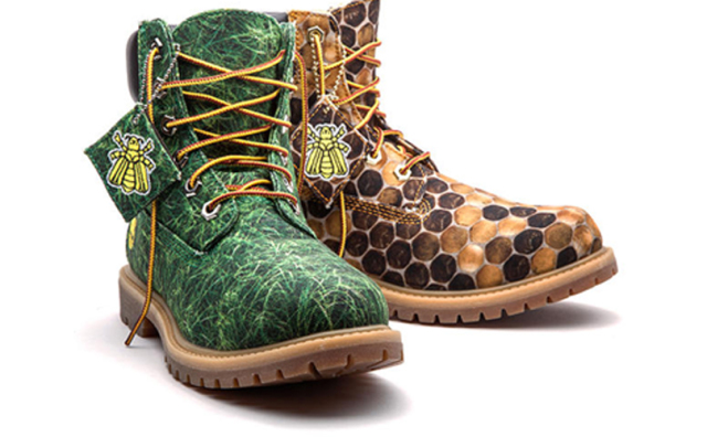 Timberland Bee-Inspired Boots: Source: Timberland