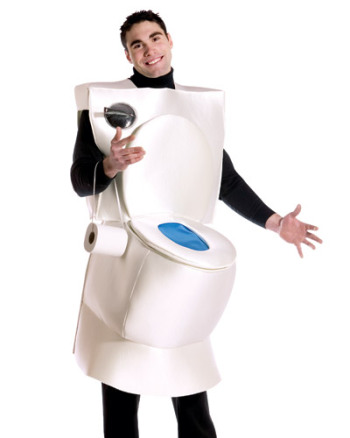 Tidy Toilet Costume