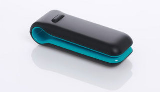 "Fitbit Tracker is 1.5"" long and weighs only an ounce: ©Fitbit Inc."