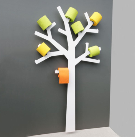 Toilet Paper Tree (Image via SitOnDesign)