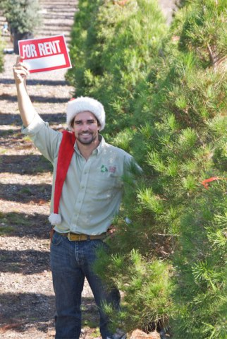 Live Christmas Tree Rentals (Image via Facebook)