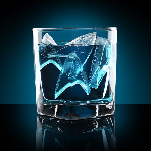Star Trek Ice Cubes