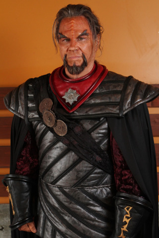 Richard Hatch as Kharn (Image via Kickstarter)