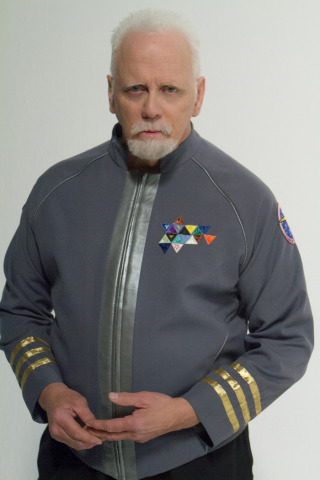 JG Hertzler as Captain Samuel Travis (Image via Kickstarter)