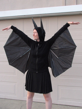 Umbrella Bat Costume