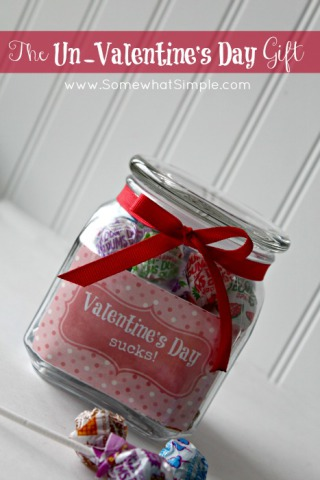 Valentines Suck Candy Jar