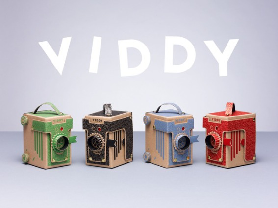 The Viddy, Pop-Up Pinhole Camera (Image via Kickstarter)