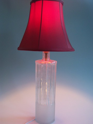 "Repurposed Voxx Vodka Bottle Table Lamp: by ""LiquidLighting"""