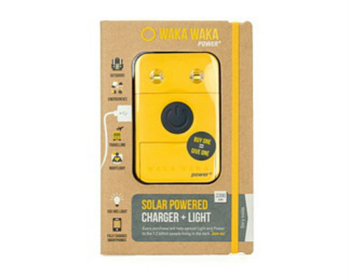 WakaWaka Solar Charger & LED Light: Solar power that gives back