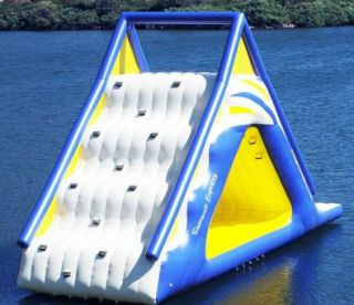 Gigantic Water Play Slide