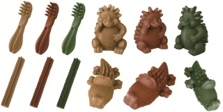 Whimzees - a variety of groovy shapes and sizes