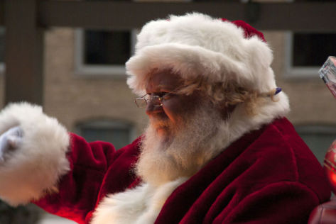 Santa Claus (Photo by DR04/Creative Commons via Wikimedia)