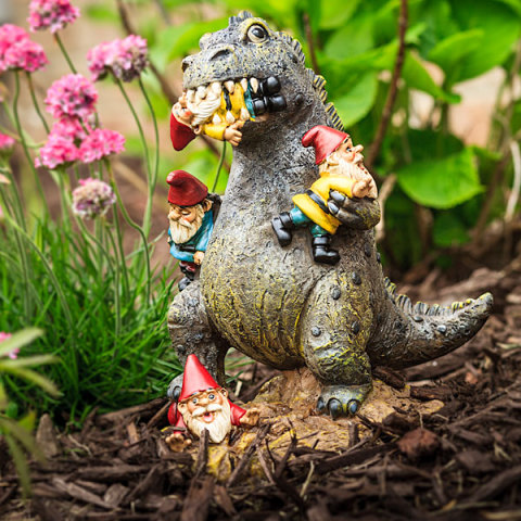 Gardenzilla! The Rampaging Kaiju Garden Gnome