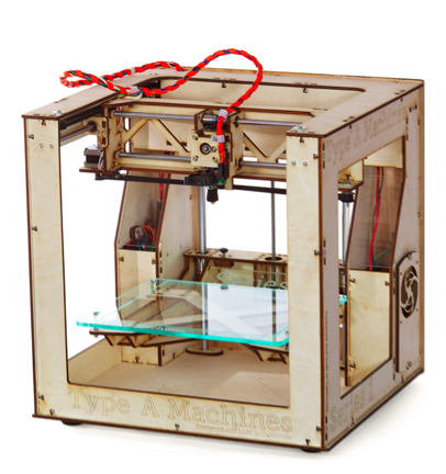 The first prize winner gets a Type A Machines Series 1 3D Printer