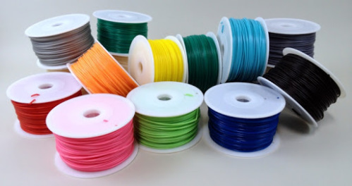 The third prize winner gets a sample pack of awesome 3D printer tools from Matter Hackers. (Includes soft PLA like the spools seen here!)