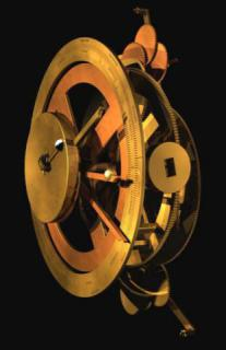A 3d model of the machine's front gears and dials from the AMRP's website