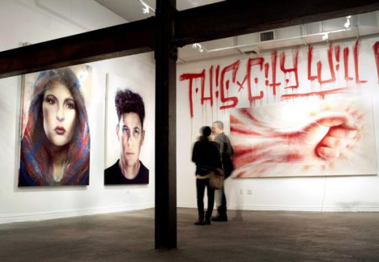 Installation View - This City Will Eat Me Alive